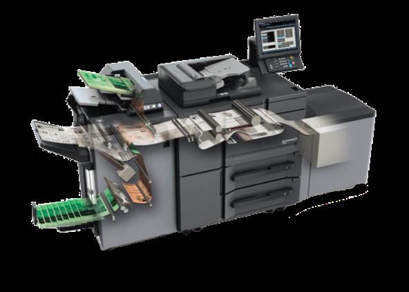 Equipo de impresión profesional oficina